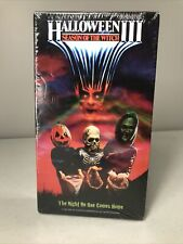 Halloween 3: Season of the Witch (VHS) sealed