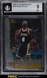 1996 Bowman's Best Kobe Bryant ROOKIE RC #R23 BGS 9 MINT