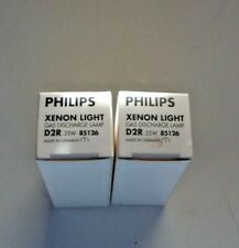 2 New Philips 85126 D2R 4300K 35W Xenon Bulb HID Head Light Lamp made in Germany