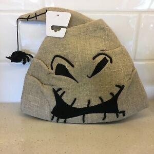 NWT Disney Parks Nightmare Before Christmas Oogie Boogie Burlap Knit Adult Hat