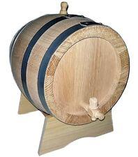Baril Tonneaux chêne 3 litres lt épaisseur lattes 2.2 cm barrique robinet bois