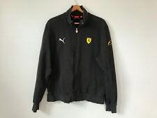 Puma Ferrari 03 Filipe Massa Racing F1 Track Jacket Black Full ZIP Scuderia sz L