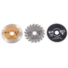 3pcs/set Circular Metal Madera Hoja De Sierra Rueda De Corte De Discos