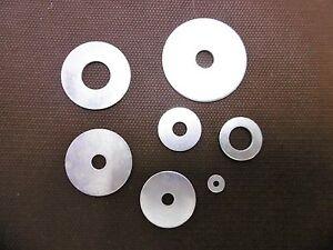 rondelle plate acier zingué  M12 M10 M8 M6 M5 M2 DIN 522