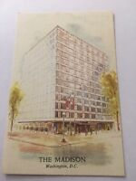Vintage Postcard Unposted The Madison Hotel Washington DC