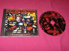 Done Lying Down Kontrapunkt 1996 CD Album Rock MINT