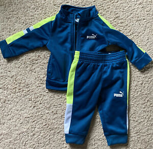 Puma Baby outfit 3-6 Mos Zipper Jacket And Pants