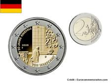 2 Euros Commémorative Allemagne 70J Kniefall 2020 UNC