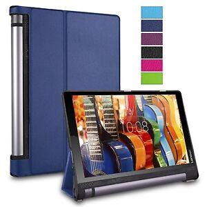 "Slim Folio Book Case Cover for Lenovo Yoga Tab 3 10.1"" Inch Tablet YT3-X50F"