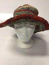 New Ladies Natural Hemp & Cotton Festival Boho  Hippie Hat  Fits Most Heads