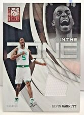 Kevin Garnett 2009-10 Panini Elite In The Zone GU Jersey #'d 32/299 - CELTICS