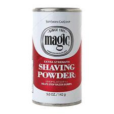 Magic-rosso-DEPILATORIO-barba - in polvere-extra-resistenza-razorless - barba-STOP-urti