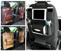 Car Back Seat Organiser Tidy Organizer Storage Pouch Cup Holder iPad Mini Pocket