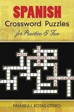 Spanish Crossword Puzzles for Practice and Fun (Paperback or Softback)