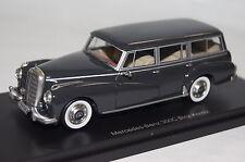 Mercedes 300C (W186) Binz dunkel grau Resin 1:43 Bos neu & OVP 43325