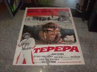Tepepa Manifesto 2F Original 1969 Tomas Milian Orson Welles