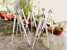 """Marine Nautical White Wooden Tripod Vintage Floor stand Without Lamp Marine 39"""""""