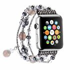 Handmade Pearl Stone Bracelet Replacement for Apple Watch Series 2 Series 1 38mm