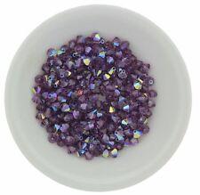Swarovski Crystal 5301 Bicones 4mm - LILAC AB (24 PCS)