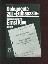 Dokumente Zur EUTHANASIE