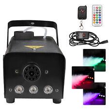 Nebelmaschine Bühneneffekt Rauchmaschine Disco RGB Bodennebelmaschine LED 500W