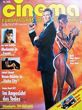JAMES BOND + 007 + CINEMA + 08/1985 + ROGER MOORE + GRACE JONES +