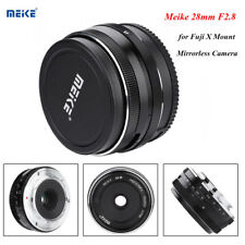 Meike 28mm F/2.8 Large Aperture MF APS-C Lens for Fuji X Mount Mirrorless Camera