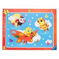 Puzzle Jouet Enfants RAVENSBURGER Drôles de petites bêtes 8 pièces - 3 ans NEUF