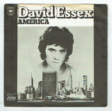"David ESSEX Vinyl 45 tours 7"" AMERICA - DANCE LITTLE GIRL - CBS 2176 F Reduit"