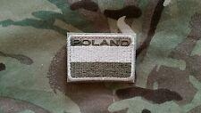 Polish ARMY FLAG POLAND patch camo 50x35 special force GROM