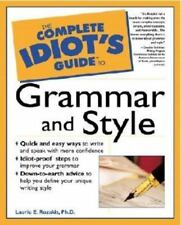IDIOT'S GUIDE TO GRAMMAR AND STYLE--PAPERBACK