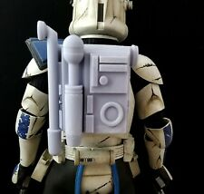 "Star Wars 1/6 Clone ARC Trooper Backpack Blank for Custom 12"" Figure"