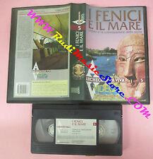 VHS film I FENICI E IL MARE Lilibeo colonizzazione sicilia MOZIA (F119) no dvd