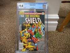 The Original Shield 1 cgc 9.8 Archie 1984 WHITE pgs MINT origin Dick Ayers Robot
