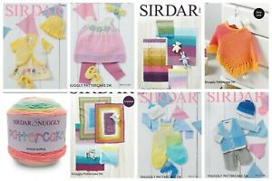 Sirdar Snuggly Pattercake Yarn Patterns  Knitting & Crochet OUR PRICE £2.90