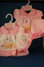 Premature Baby Dress   Pink & White   3-5lbs 5-8lbs 8-10lbs   Tiny Baby   Small