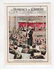 figurina - LE COPERTINE DELLA DOMENICA DEL CORRIERE - MUSICA 6