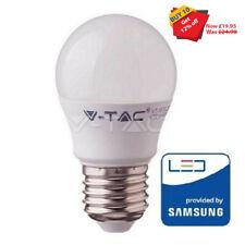 10 x 7W VTAC E27 G45 Golf Led Bulb Lamp Bulb with Samsung Chip 6400K 600Lm
