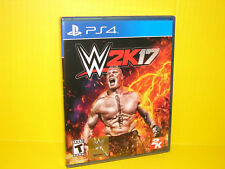 WWE 2K17 Standard Edition for PlayStation 4 PS4 2017 Brand New