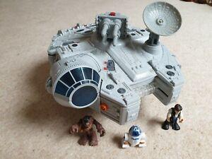 Star Wars Galactic Heroes Millenium Falcon Hasbro Imaginext