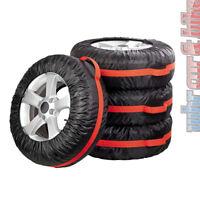 """Eufab Reifentaschen-Set 4-teilig bis 19"""" Reifenhüllen SUV bis 350mm Reifenbreite"""