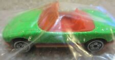 1990 Hot Wheels Mazda Miata Sparkle Green Orange MX-5 Car Mail Away NIP