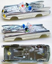 2004 JL  BATMOBILE Comic Book CHROME Slot Car Body ONLY