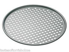 "Masterclass Non Stick 13"" Pizza Crisper Baking Pan Tray"
