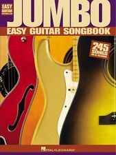 Jumbo Easy Guitar Songbook Sheet Music Easy Guitar NEW 000702162