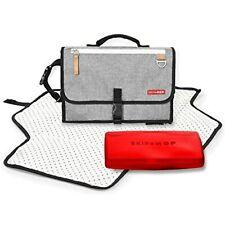 Skip Hop Pronto Signature Portable Changing Mat, Changing Pad Grey Melange