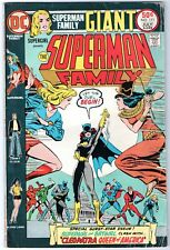 Superman Family #171 Giant (DC 1975) VG/FN Supergirl Batgirl FREE shipping