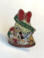TDL - Mickey Christmas Magical 2005 Minnie Mouse Disney Pin (B3)