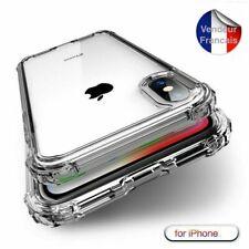 Coque Antichoc Silicone TPU renforcé iPhone X 10 11 XR XS Max 8 7 6s Plus
