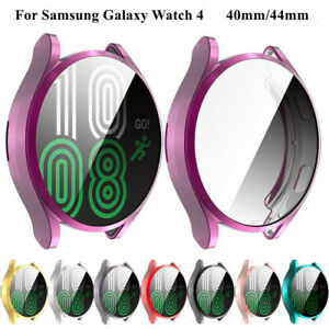 TPU Full Protect Screen Protector Case Cover For Samsung Galaxy Watch 4 40/44mm